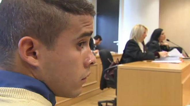 José Fernando, el fill dOrtega Cano, demana perdó davant el jutge