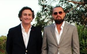 DiCaprio y Agag en la Fórmula E