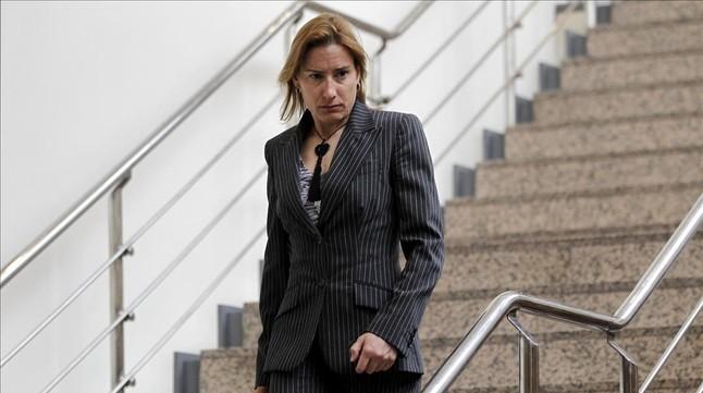 Marta Domínguez, en el Senado en el 2013.