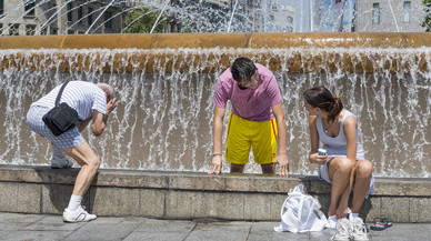 Catalunya afronta la segona onada de calor de l'estiu