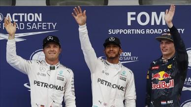 Hamilton liderarà la graella del GP de Malàisia