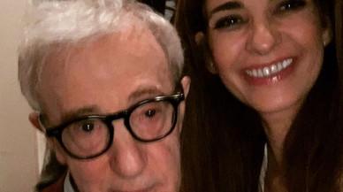 Mariló Montero, bona novaiorquesa, es fa un 'selfie' amb Woody Allen