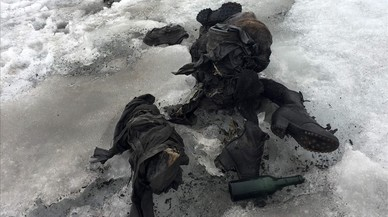 Trobats els cossos congelats d'una parella desapareguda fa 75 anys als Alps suïssos