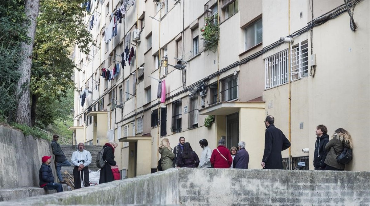 zentauroepp41021359 barcelona 20 de noviembre de 2017 desahucio en la calle pe171120150842