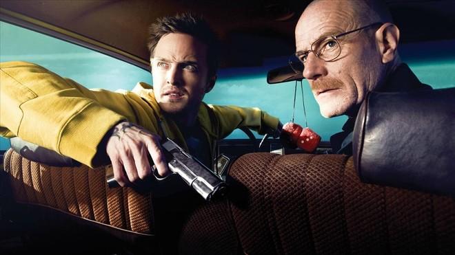 Bryan Cranston y Aaron Paul, en una escena de la serie Breaking bad