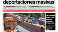 La portada de EL PERIÓDICO del 22 de febrero del 2017