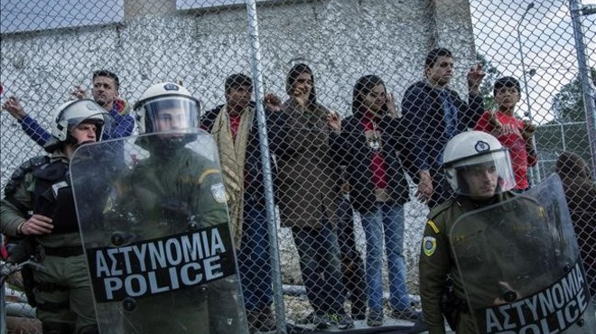 Els 'afortunats' de Lesbos