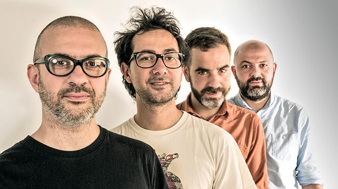 El grupo de m�sica electr�nica interpreta 'Tot es ara'