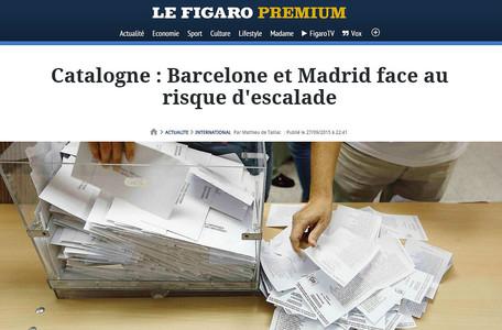La prensa internacional destaca la victoria del independentismo en las elecciones catalanas