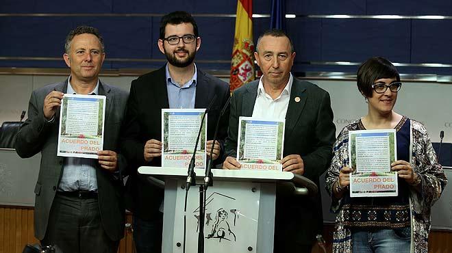 Comparació entre l'acord del Prado i l'acord PSOE-Ciutadans