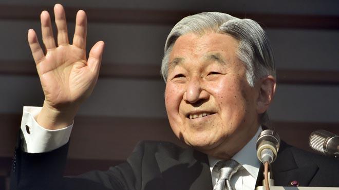 L'emperador del Japó reconeix que no pot continuar