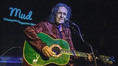 Donovan, en el festival Músiques Disperses, el domingo, en Lleida.