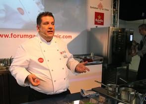 Víctor Quintillà (Lluerna), que este año participa en el Fòrum Gastronòmic Girona, en la edición del 2011.