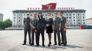 El primer concierto rock en Corea del Norte