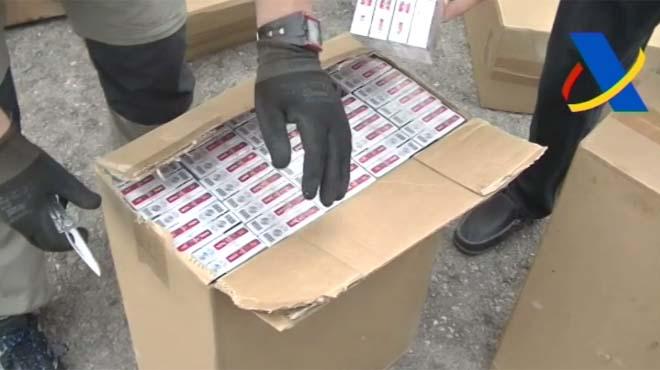 La mayor incautación de tabaco en España: tres millones de cajetillas