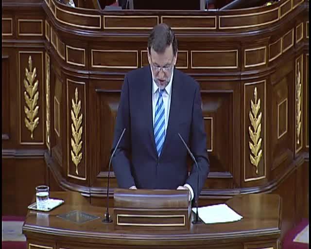 """Rajoy defensa la llei d'abdicació com a """"símptoma d'estabilitat i de maduresa democràtica"""""""