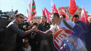 La corrupció irromp en el discurs sindical
