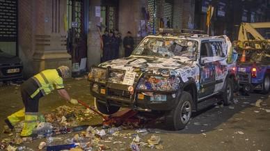 La Guàrdia Civil denuncia que les protestes van impedir portar els detinguts als registres