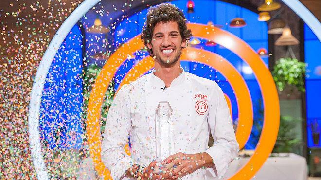 Jorge, el esperado ganador de 'Masterchef 5'