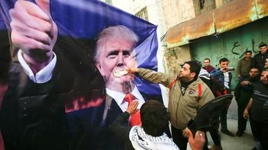 Trump invita al presidente palestino a la Casa Blanca