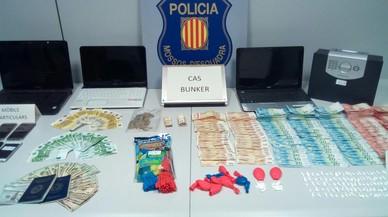Els Mossos tanquen un punt de venda de cocaïna a Sant Roc