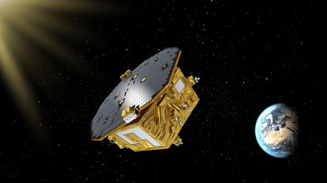 Simulaci�n en el espacio de la sondaLISA Pathfinder, de la Agencia Espacial Europea (ESA).