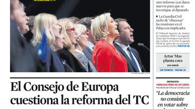 Avís europeu a Rajoy