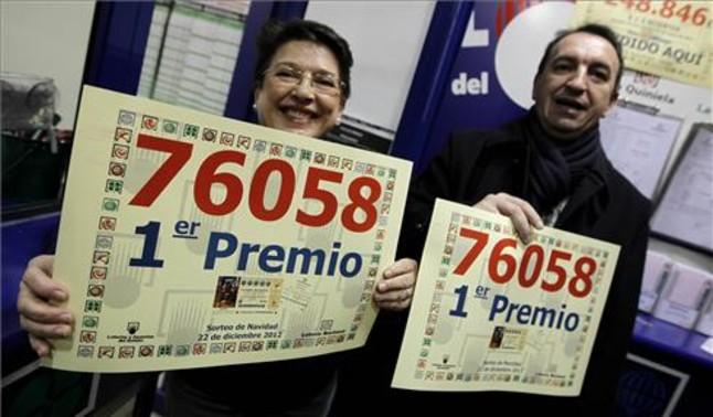 Administracion de loteria en el centro comercial La Vaguada en Madrid