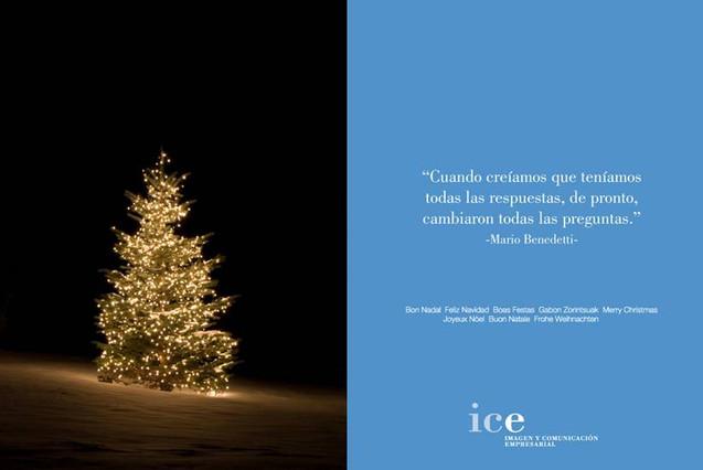 Las tradicionales postales de navidad se modernizan - Tarjeta navidad original ...
