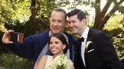 Tom Hanks se 'cuela' en la boda de unos desconocidos