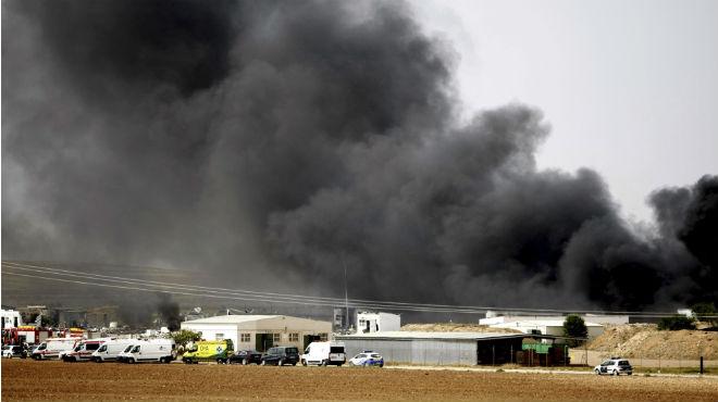 Sis morts i sis ferits en l'explosió d'una pirotècnia a Saragossa