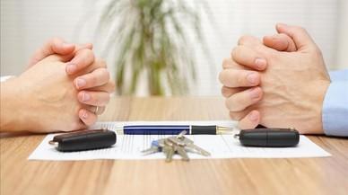 Les parelles que es divorcien conviuen de mitjana entre 16 i 20 anys