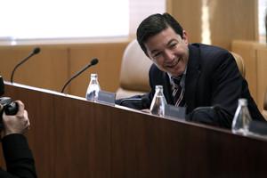 El concejal del Ayuntamiento de Madrid Pedro Calvo, en una imagen de archivo.