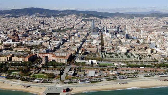 Barcelona panorámica