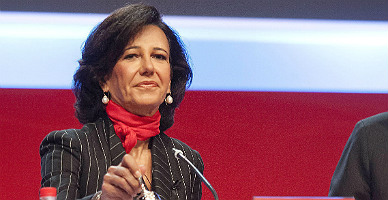 Ana Bot�n, en la primera junta de accionistas tras la muerte de su padre.