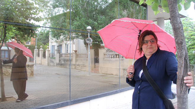 Entrevista con Jordina Ribas, ciudadana de Cornell� de Llobregat.