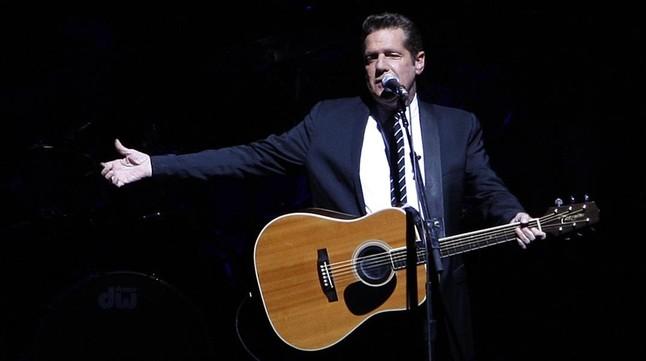Glenn Frey, en un concierto en Madrid de los Eagles en el 2009.