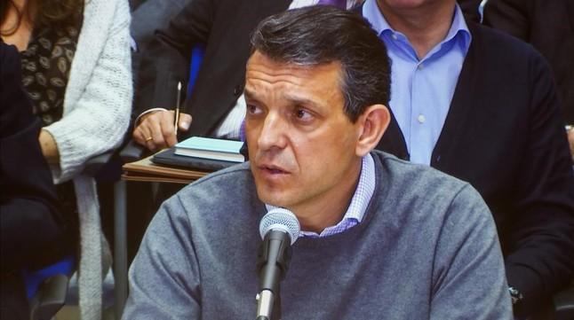 El exdirector del Instituto Valenciano de Finanzas Jorge Vela, durante su declaración este miércoles en el juicio del caso Nóos.
