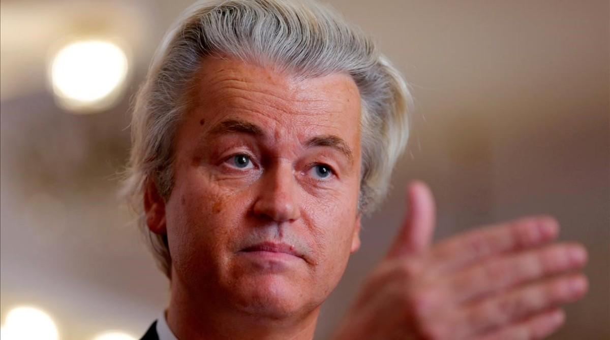 El ultra holandés Geert Wilders.