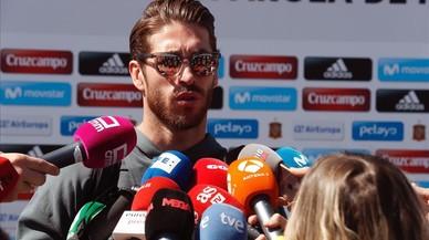 "Ramos: ""A Piqué i a mi ens agrada tirar-nos alguna pedreta"""