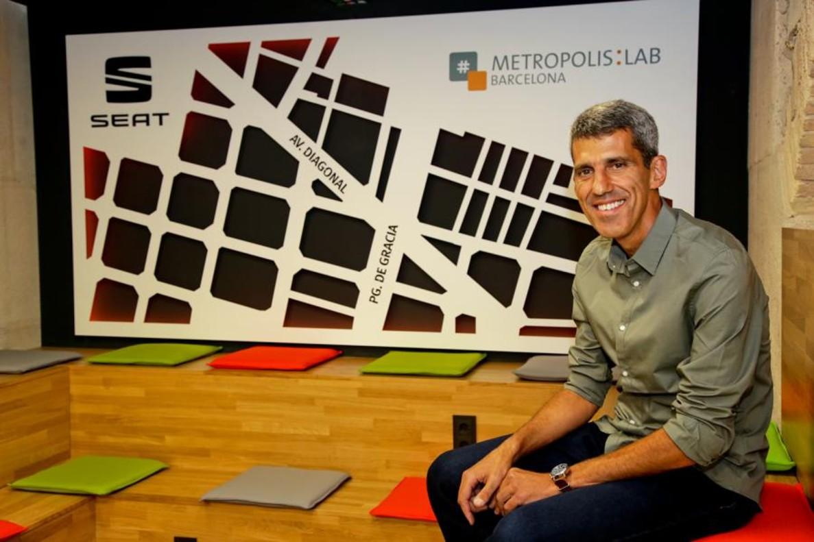 Jose Nascimento, responsable del Seat Metropolis:Lab Barcelona.