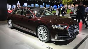 El nuevo Audi A8 en su versión larga.