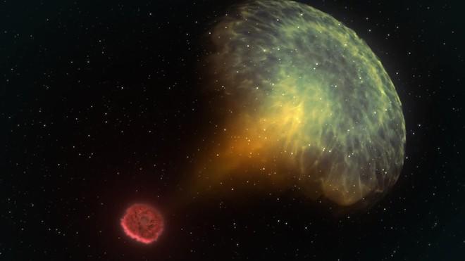 Recreación del choque de estrellas de neutrones detectado el 17 de Agosto