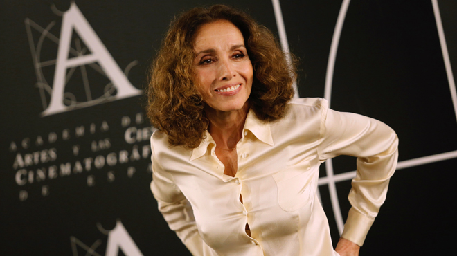 Ana Belén, premi Goya d'Honor 2017, demana feina en el cine.