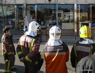 Incendio en la sauna de un gimnasio en Sabadell