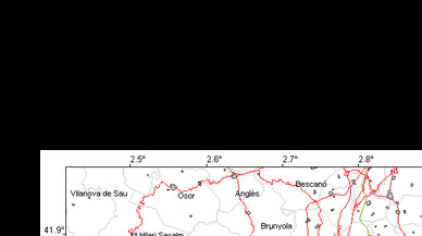 Un terremoto de 3,8 grados sacude las comarcas de Girona y Barcelona