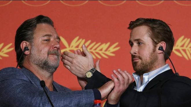 Gosling i Crowe mostren la vis còmica
