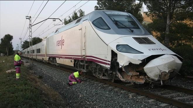 Restablerta la circulació ferroviària entre Montroig i l'Hospitalet de l'Infant