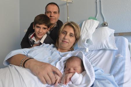 El primer catal�n y espa�ol del a�o se llama Gerard y ha nacido en Tortosa