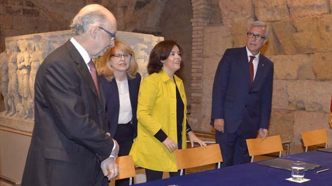 Gobierno y Ayuntamiento de Tarragona firman convenio